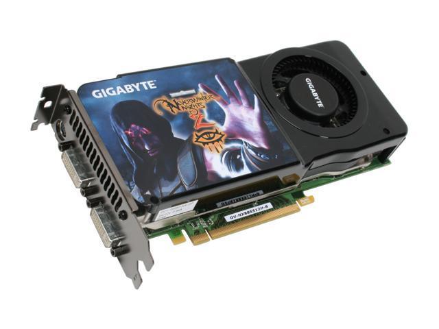 GIGABYTE GeForce 8800GTS (G92) DirectX 10 GV-NX88S512H-B Video Card
