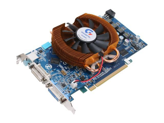 GIGABYTE GeForce 8800 GT DirectX 10 GV-NX88T512HPV1 512MB 256-Bit GDDR3 PCI Express 2.0 x16 HDCP Ready SLI Support Video Card