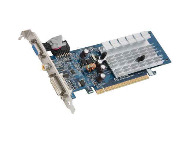 GIGABYTE GeForce 7200GS DirectX 9 GV-NX72G512E1 Video Card