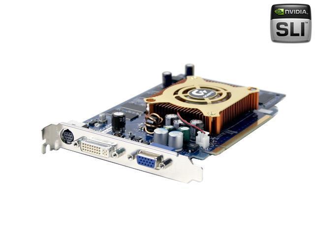 GIGABYTE GeForce 6600 DirectX 9 GV-NX66256D Video Card