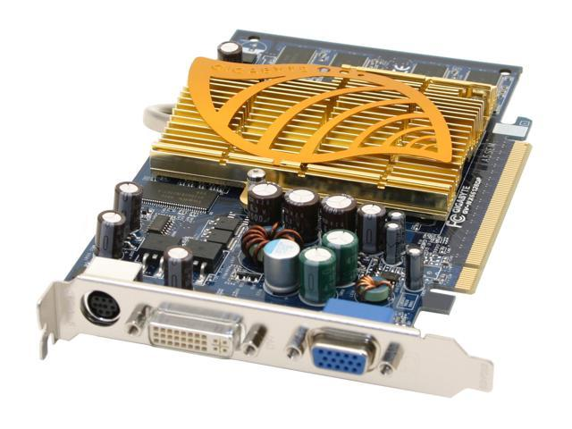 GIGABYTE GeForce 6600 DirectX 9 GV-NX66128DP 128MB 128-Bit DDR PCI Express x16 Video Card