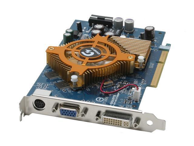 GIGABYTE GeForce 6200 DirectX 9 GV-N62128DP 128MB 128-Bit DDR AGP 4X/8X Video Card