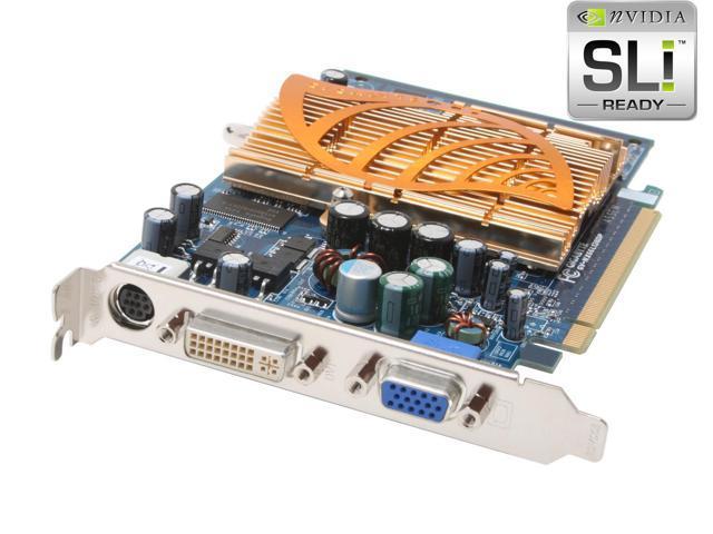 GIGABYTE GeForce 6600LE DirectX 9 GV-NX66L128DP 128MB 128-Bit DDR PCI Express x16 SLI Support Video Card