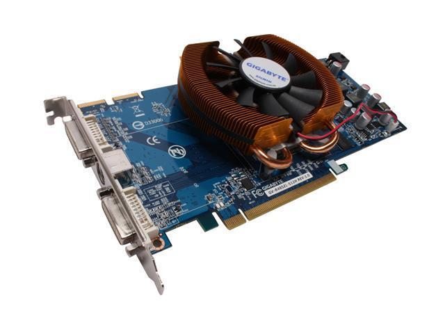 GIGABYTE Radeon HD 4850 DirectX 10.1 GV-R485ZL-512H Video Card