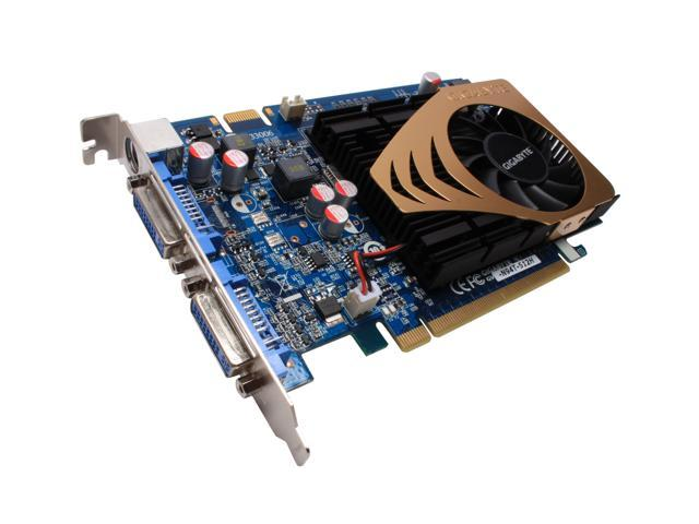 GIGABYTE GeForce 9400 GT DirectX 10 GV-N94T-512H 512MB 128-Bit GDDR2 PCI Express 2.0 x16 HDCP Ready Video Card