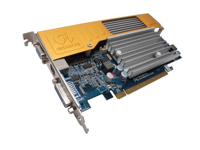 GIGABYTE GeForce 8400 GS DirectX 10 GV-NX84S512HP Video Card