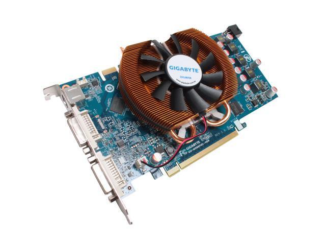 GIGABYTE GeForce 9800 GTX+ DirectX 10 GV-N98XPZL-1GH Video Card