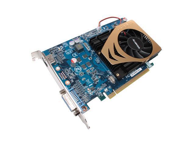 GIGABYTE Radeon HD 4650 DirectX 10.1 GV-R465-1GI 1GB 128-Bit GDDR2 PCI Express 2.0 x16 HDCP Ready Video Card