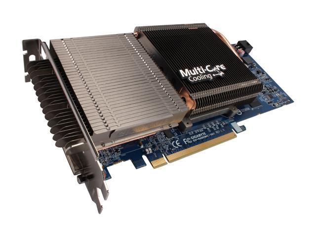 GIGABYTE Radeon HD 4850 DirectX 10.1 GV-R485MC-1GI 1GB 256-Bit GDDR3 PCI Express 2.0 x16 HDCP Ready CrossFireX Support Video Card
