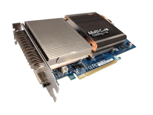GIGABYTE GeForce 9600 GSO DirectX 10 GV-N96GMC-512H 512MB 256-Bit GDDR3 PCI Express 2.0 x16 HDCP Ready SLI Support Video Card