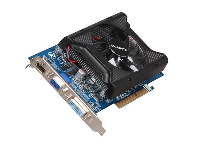 GIGABYTE Radeon HD 4650 DirectX 10.1 GV-R465D2-1GI 1GB 128-Bit GDDR2 AGP 8X HDCP Ready Video Card