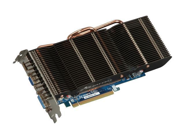 GIGABYTE GV-N98TSL-1GI GeForce 9800 GT 1GB Silent Cell 256-bit GDDR3 PCI Express 2.0 x16 HDCP Ready SLI Supported Video Card