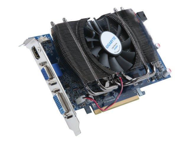 GIGABYTE GeForce 9800 GT DirectX 10 GV-N98TOC-1GI Rev 2.0 1GB 256-Bit GDDR3 PCI Express 2.0 x16 HDCP Ready SLI Support Video Card