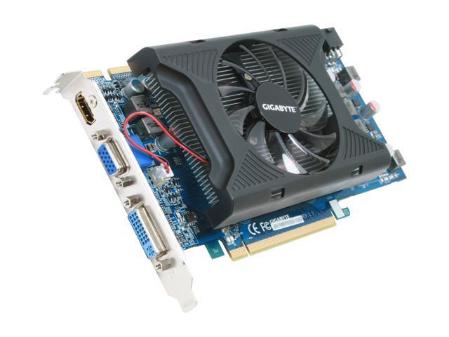 GIGABYTE Radeon HD 4770 DirectX 10.1 GV-R477UD-1GI 1GB 128-Bit GDDR5 PCI Express 2.0 x16 HDCP Ready CrossFireX Support Video Card