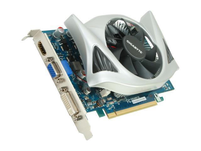 GIGABYTE GeForce GT 240 DirectX 10.1 GV-N240D5-512I 512MB 128-Bit GDDR5 PCI Express 2.0 x16 HDCP Ready Video Card