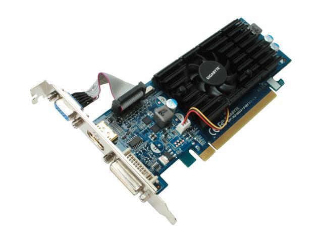 GIGABYTE GeForce 210 DirectX 10.1 GV-N210D3-512I Video Card