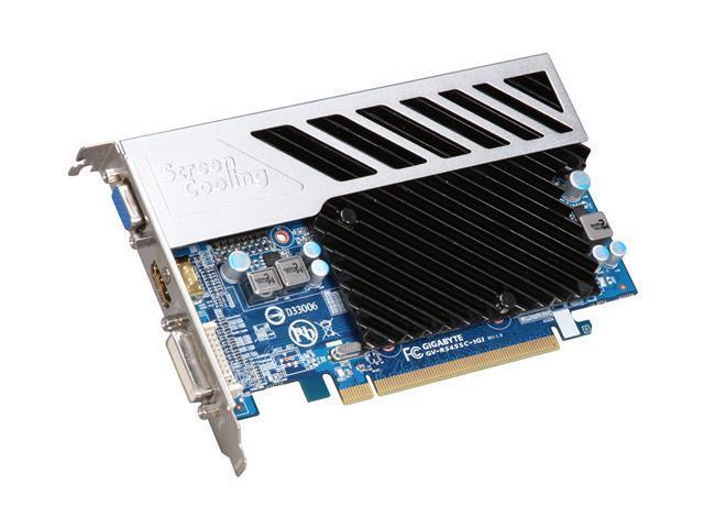 GIGABYTE Silent Series Radeon HD 5450 (Cedar) DirectX 11 ...
