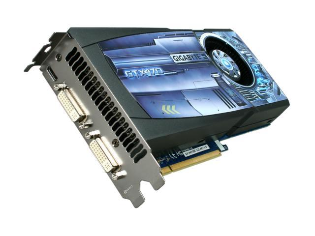 GIGABYTE GeForce GTX 470 (Fermi) DirectX 11 GV-N470OC-13I 1280MB 320-Bit GDDR5 PCI Express 2.0 x16 HDCP Ready SLI Support Video Card