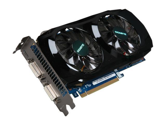 GIGABYTE GeForce GTX 460 (Fermi) DirectX 11 GV-N460OC-1GI 1GB 256-Bit GDDR5 PCI Express 2.0 x16 HDCP Ready SLI Support Video Card