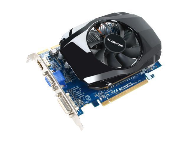 GIGABYTE Radeon HD 5670 DirectX 11 GV-R567OC-1GI Rev2.0 1GB 128-Bit GDDR5 PCI Express 2.1 x16 HDCP Ready CrossFireX Support Video Card