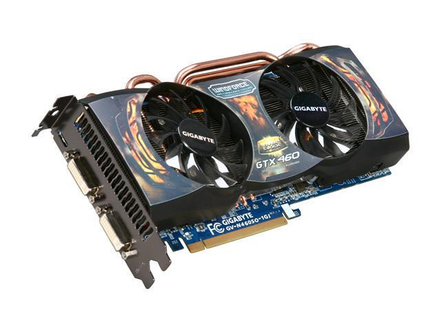 GIGABYTE Super Overclock Series GeForce GTX 460 (Fermi) DirectX 11 GV-N460SO-1GI Video Card