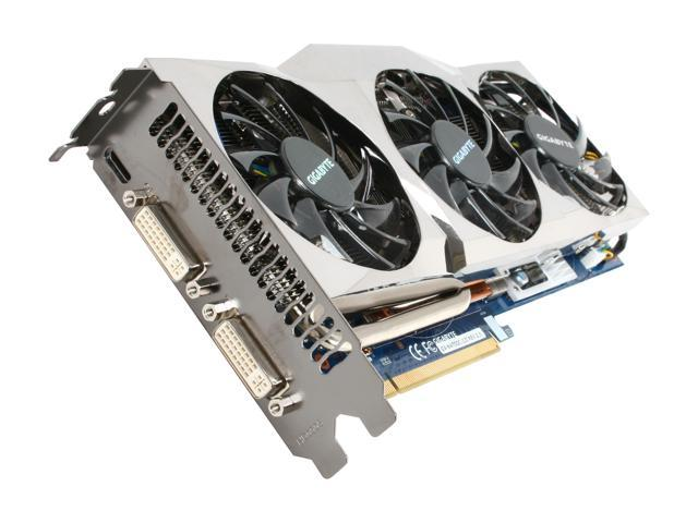 GIGABYTE Ultra Durable VGA Series GeForce GTX 470 (Fermi) DirectX 11 GV-N470OC-13I REV2.0 1280MB 320-Bit GDDR5 PCI Express 2.0 x16 HDCP Ready SLI Support Video Card