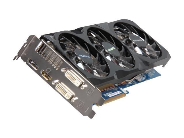 GIGABYTE Radeon HD 6950 DirectX 11 GV-R695UD-1GD Video Card with Eyefinity