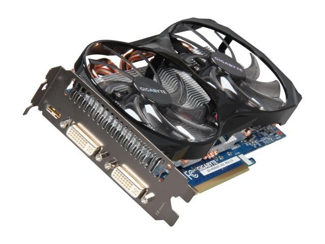 GIGABYTE GeForce GTX 560 (Fermi) DirectX 11 GV-N56GOC-1GI 1GB 256-Bit GDDR5 PCI Express 2.0 x16 HDCP Ready SLI Support Video Card