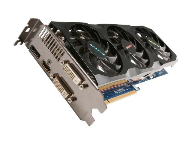 GIGABYTE Radeon HD 6950 DirectX 11 GV-R695OC-1GD Video Card