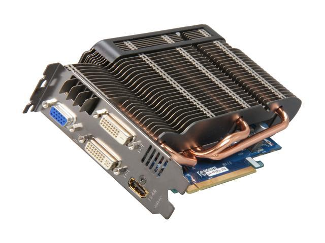GIGABYTE Radeon HD 6750 DirectX 11 GV-R675SL-1GI 1GB 128-Bit GDDR5 PCI Express 2.1 x16 HDCP Ready Video Card