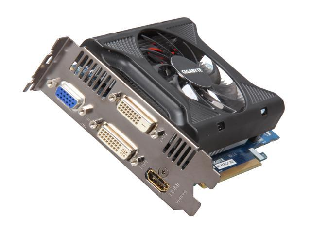 GIGABYTE Radeon HD 6750 DirectX 11 GV-R675OC-1GI Video Card