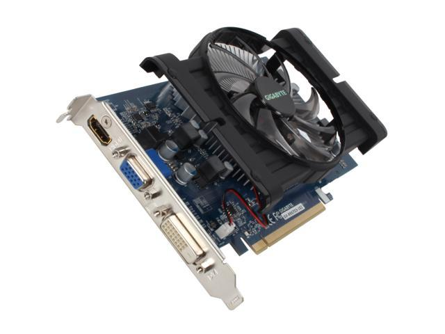 GIGABYTE Radeon HD 6670 DirectX 11 GV-R667D3-1GI 1GB 128-Bit DDR3 PCI Express 2.1 x16 HDCP Ready CrossFireX Support Video Card