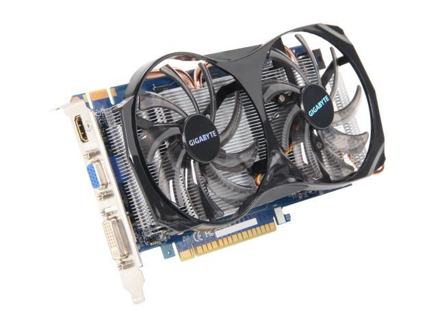 GIGABYTE GeForce GTX 550 Ti (Fermi) DirectX 11 GV-N550WF2-1GI Video Card