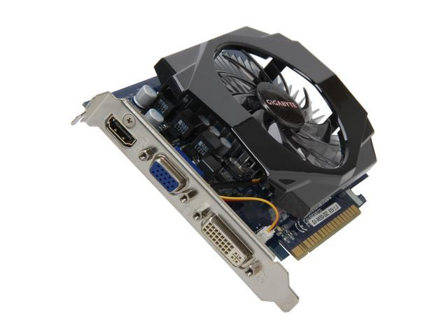 GIGABYTE GeForce GT 630 DirectX 11 GV-N630-2GI 2GB 128-Bit DDR3 PCI Express 2.0 x16 HDCP Ready Video Card