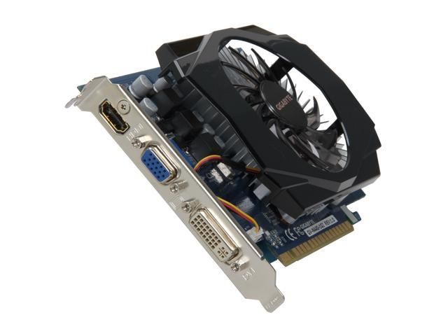 GIGABYTE GeForce GT 440 (Fermi) DirectX 11 GV-N440-1GI 1GB 128-Bit DDR3 PCI Express 2.0 x16 HDCP Ready Video Card