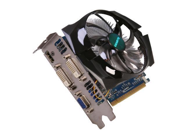 GIGABYTE GeForce GT 640 DirectX 11 GV-N640OC-2GI 2GB 128-Bit DDR3 PCI Express 3.0 x16 HDCP Ready Video Card