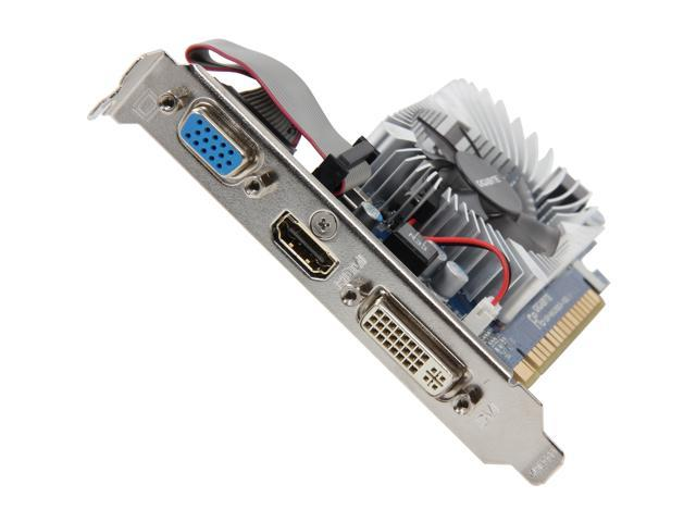 GIGABYTE GeForce GT 620 DirectX 11 GV-N620D3-1GL 1GB 64-Bit DDR3 PCI Express 2.0 x16 HDCP Ready Low Profile Video Card