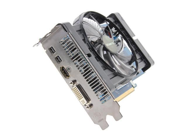 GIGABYTE Radeon HD 7770 DirectX 11 GV-R777OC-1GD Rev2.0 1GB 128-Bit GDDR5 PCI Express 3.0 x16 HDCP Ready CrossFireX Support Video Card