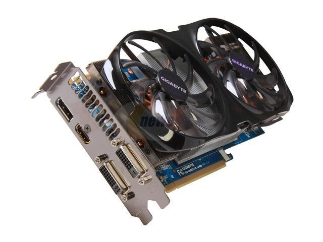 GIGABYTE GeForce GTX 660 Ti DirectX 11 GV-N66TOC-2GD 2GB 192-Bit GDDR5 PCI Express 3.0 x16 HDCP Ready SLI Support Video Card