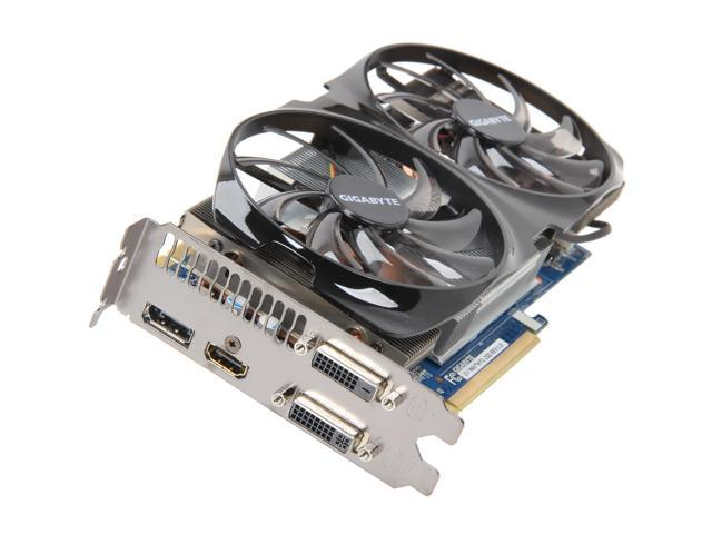 GIGABYTE GeForce GTX 660 Ti DirectX 11 GV-N66TWF2-2GD Video Card