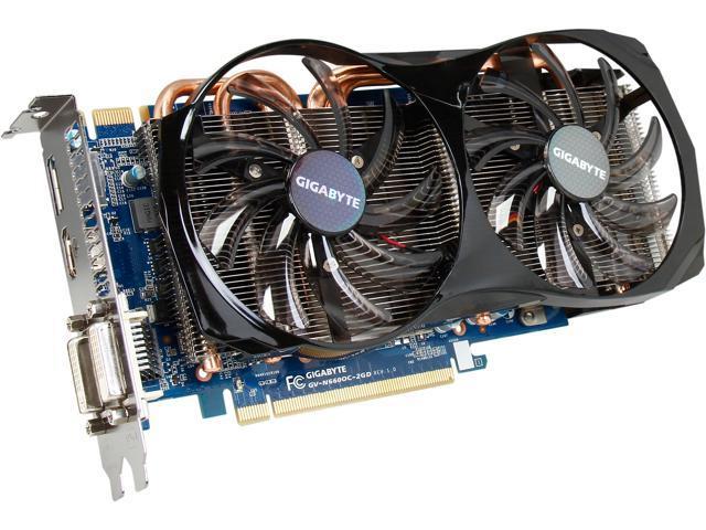 GIGABYTE GeForce GTX 660 DirectX 11 GV-N660OC-2GD Video Card