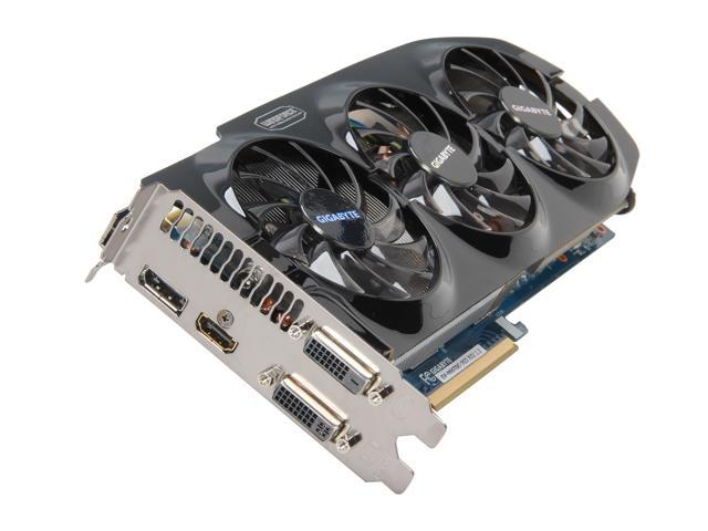 GIGABYTE GeForce GTX 660 Ti DirectX 11.1 GV-N66TOC-3GD 3GB 192-Bit GDDR5 PCI Express 3.0 x16 HDCP Ready SLI Support Video Card