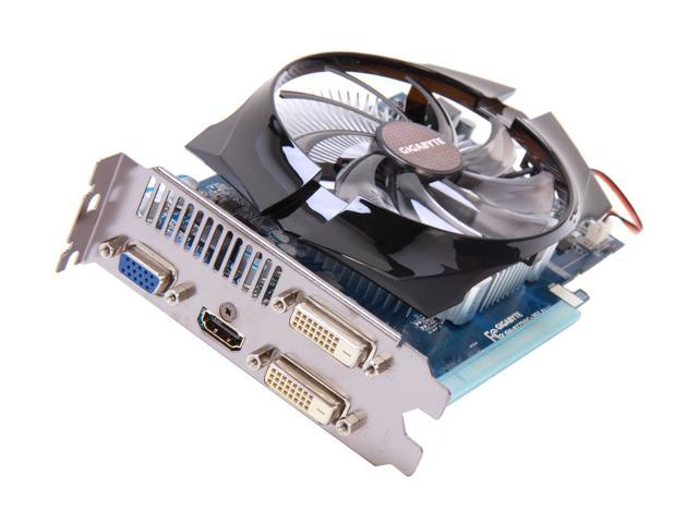 GIGABYTE Radeon HD 7750 DirectX 11 GV-R775OC-2GI Video Card