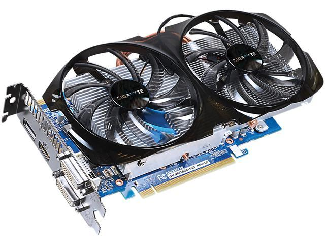 GIGABYTE GeForce GTX 650 Ti BOOST GV-N65TBOC-1GD Video Card