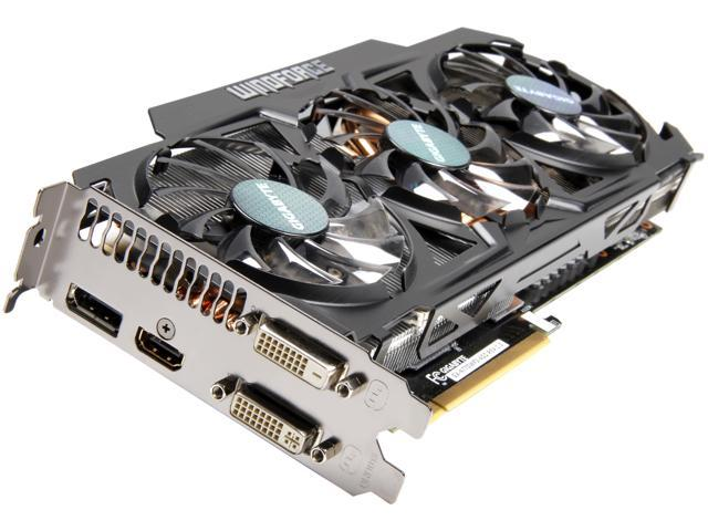 GIGABYTE GeForce GTX 770 DirectX 11.1 GV-N770WF3-4GD WindForce 3X Video Card