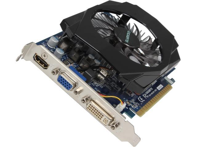GIGABYTE GeForce GT 630 DirectX 11.1 GV-N630-2GI REV3.0 2GB 128-Bit DDR3 PCI Express 2.0 x16 Video Card