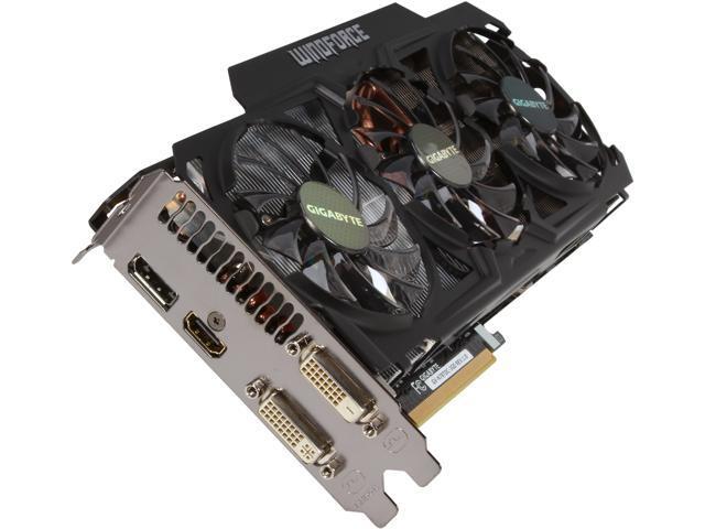 GIGABYTE GV-N78TOC-3GD G-SYNC Support GeForce GTX 780 Ti 3GB 384-Bit GDDR5 PCI Express 3.0 HDCP Ready Video Card