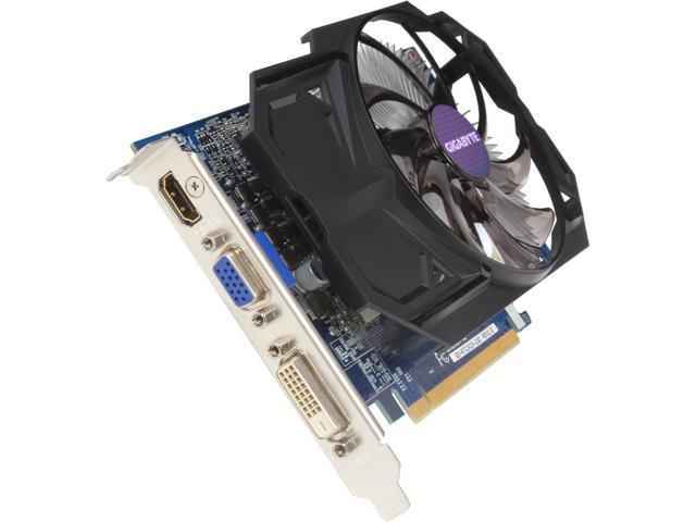 GIGABYTE Radeon R7 250 DirectX 11.2 GV-R725O5-2GI 2GB 128-Bit GDDR5 PCI Express 3.0 HDCP Ready Video Card
