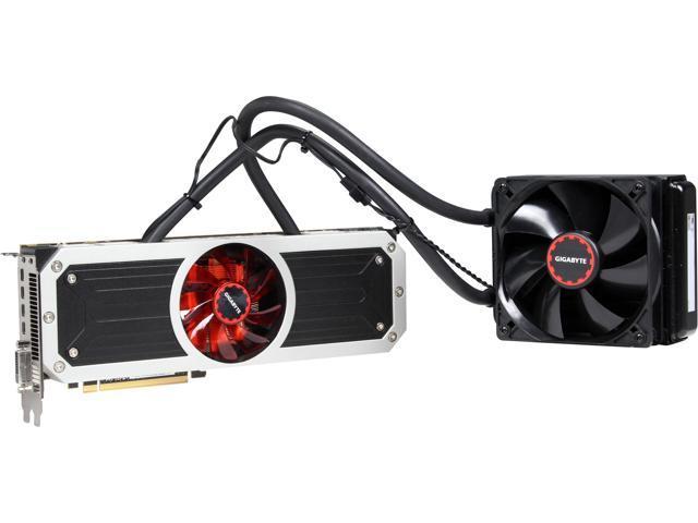 GIGABYTE Radeon R9 295x2 GV-R9295X2-8GD-B 8GB 1024 (512 x 2)-Bit GDDR5 PCI Express 3.0 HDCP Ready Video Card
