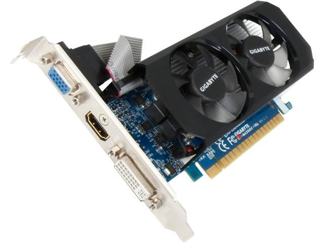 GIGABYTE GeForce GT 430 (Fermi) DirectX 11 GV-N430OC-1GL Video Card